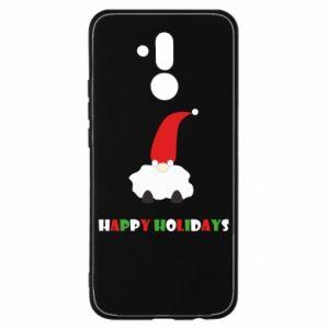 Etui na Huawei Mate 20 Lite Happy Holidays Santa
