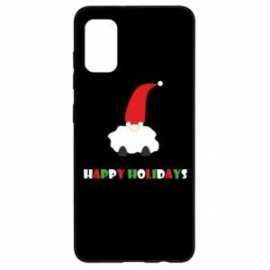 Etui na Samsung A41 Happy Holidays Santa