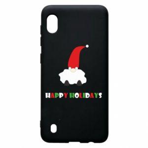 Etui na Samsung A10 Happy Holidays Santa