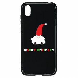 Etui na Huawei Y5 2019 Happy Holidays Santa