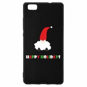 Etui na Huawei P 8 Lite Happy Holidays Santa