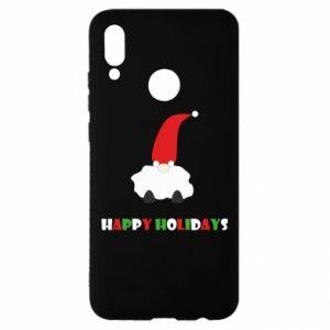 Etui na Huawei P Smart 2019 Happy Holidays Santa