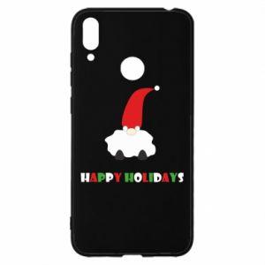 Etui na Huawei Y7 2019 Happy Holidays Santa