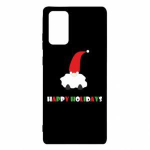 Etui na Samsung Note 20 Happy Holidays Santa