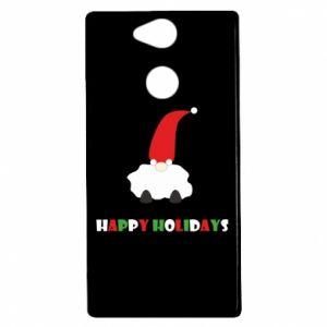Etui na Sony Xperia XA2 Happy Holidays Santa