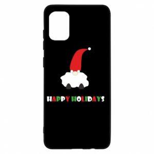 Etui na Samsung A31 Happy Holidays Santa