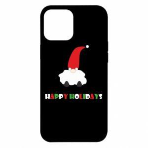 Etui na iPhone 12 Pro Max Happy Holidays Santa