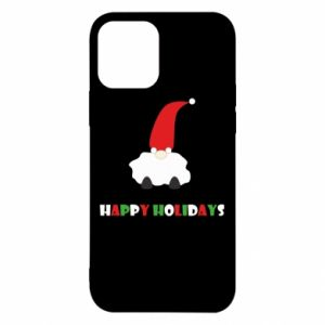 Etui na iPhone 12/12 Pro Happy Holidays Santa