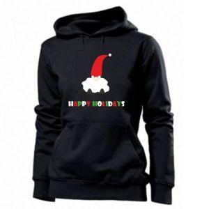 Bluza damska Happy Holidays Santa