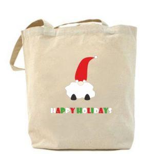 Torba Happy Holidays Santa
