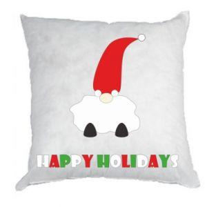 Poduszka Happy Holidays Santa