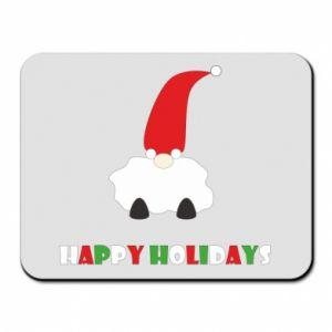 Podkładka pod mysz Happy Holidays Santa