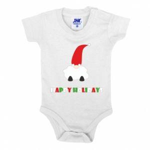 Body dziecięce Happy Holidays Santa