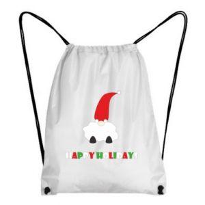 Plecak-worek Happy Holidays Santa