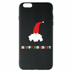 Etui na iPhone 6 Plus/6S Plus Happy Holidays Santa