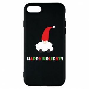 Etui na iPhone 7 Happy Holidays Santa