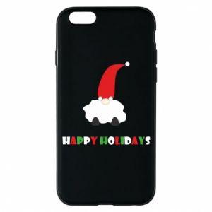 Etui na iPhone 6/6S Happy Holidays Santa