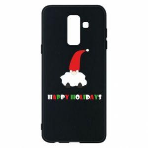 Etui na Samsung A6+ 2018 Happy Holidays Santa