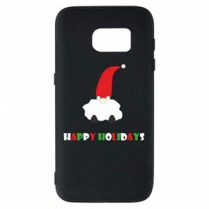 Etui na Samsung S7 Happy Holidays Santa