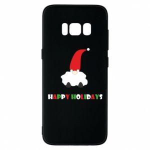Etui na Samsung S8 Happy Holidays Santa