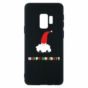 Etui na Samsung S9 Happy Holidays Santa