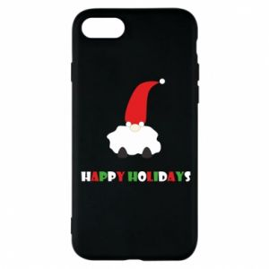 Etui na iPhone 8 Happy Holidays Santa