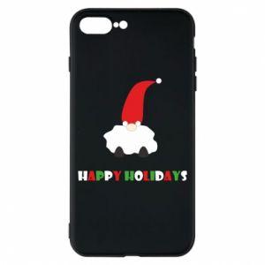 Etui na iPhone 8 Plus Happy Holidays Santa
