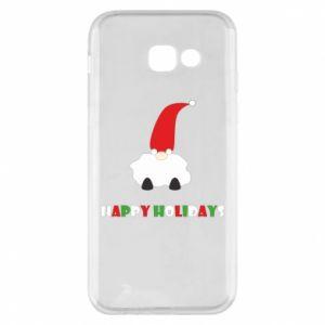 Etui na Samsung A5 2017 Happy Holidays Santa