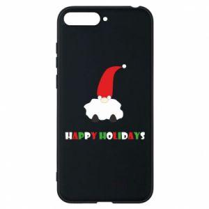 Etui na Huawei Y6 2018 Happy Holidays Santa