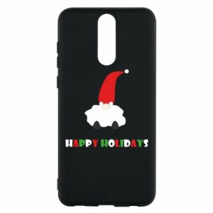 Etui na Huawei Mate 10 Lite Happy Holidays Santa
