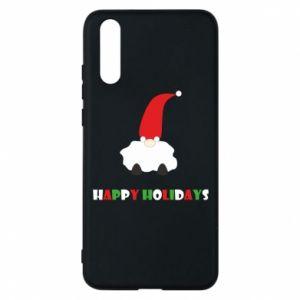 Etui na Huawei P20 Happy Holidays Santa
