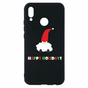 Etui na Huawei P20 Lite Happy Holidays Santa