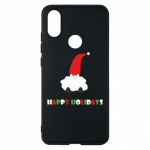 Etui na Xiaomi Mi A2 Happy Holidays Santa