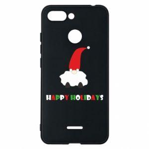Etui na Xiaomi Redmi 6 Happy Holidays Santa