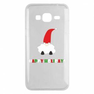 Etui na Samsung J3 2016 Happy Holidays Santa
