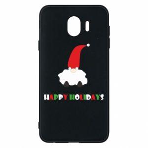 Etui na Samsung J4 Happy Holidays Santa