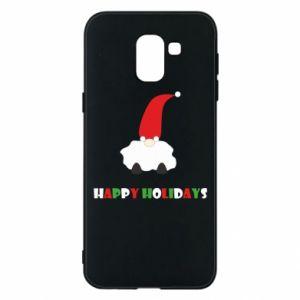 Etui na Samsung J6 Happy Holidays Santa