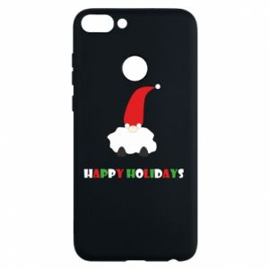 Phone case for Huawei P Smart Happy Holidays Santa