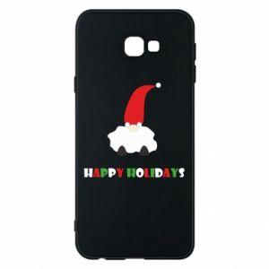 Etui na Samsung J4 Plus 2018 Happy Holidays Santa