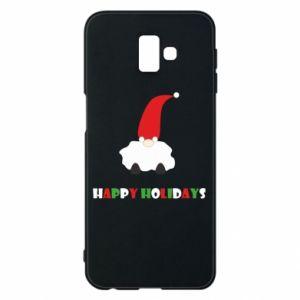 Etui na Samsung J6 Plus 2018 Happy Holidays Santa