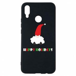 Etui na Huawei P Smart Plus Happy Holidays Santa