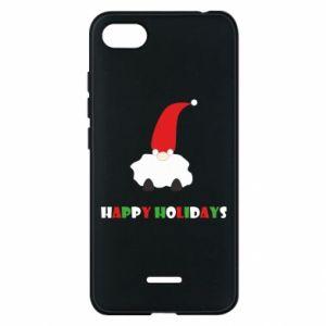 Etui na Xiaomi Redmi 6A Happy Holidays Santa