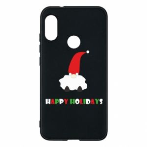 Etui na Mi A2 Lite Happy Holidays Santa
