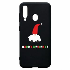 Etui na Samsung A60 Happy Holidays Santa