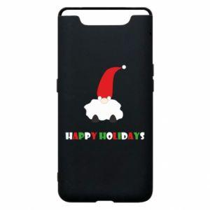 Etui na Samsung A80 Happy Holidays Santa