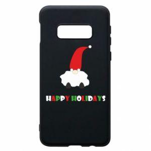 Etui na Samsung S10e Happy Holidays Santa
