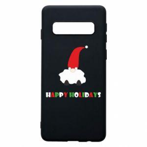 Etui na Samsung S10 Happy Holidays Santa