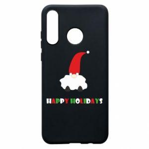 Etui na Huawei P30 Lite Happy Holidays Santa