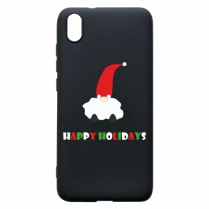 Etui na Xiaomi Redmi 7A Happy Holidays Santa