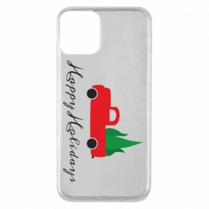 Phone case for iPhone 11 Happy Holidays!